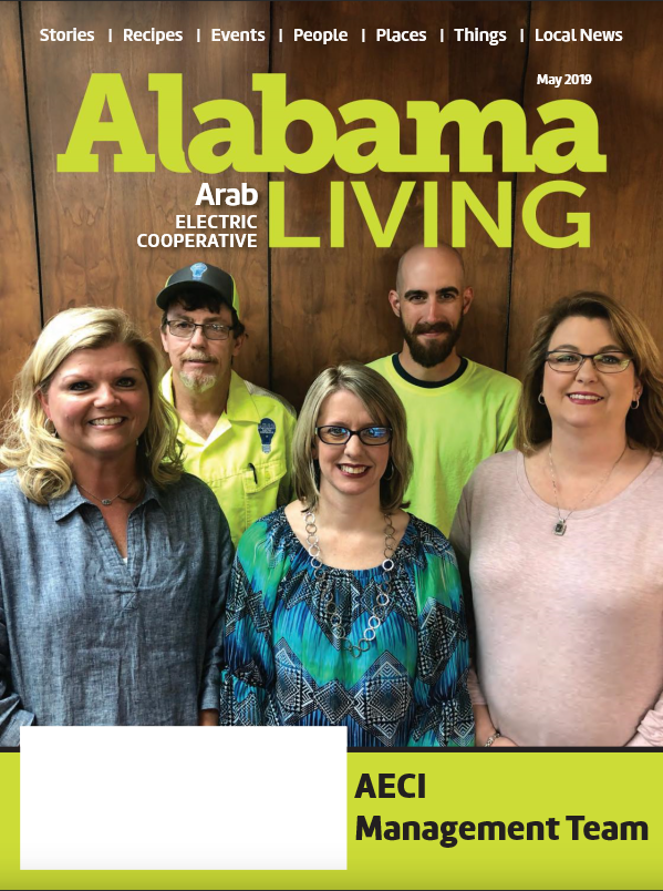 Alabama Living Magazine Cover